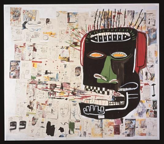 Jean-Michel Basquiat, Glenn, 1984 Courtesy Private Collection © The Estate of Jean - Michel Basquiat, Licensed by Artestar, New York