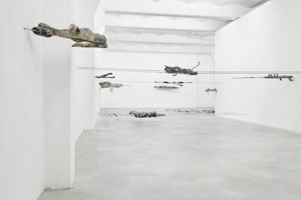 Giulia Cenci, ground-ground, 2017 exhibition view SpazioA, Pistoia