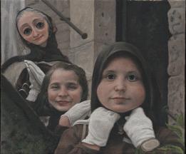 Domenico Ventura, Bambina con occhi sbarrati