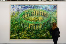 Mario Schifano, Galleria Emilio Mazzoli - Modena - Arte Fiera 2018 - ph Roberto Sala