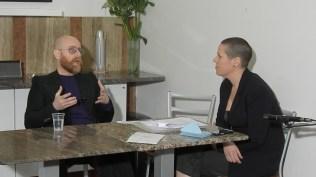 ICEcubes@Raid_Lamberto Teotino e Milena Becci, con una domanda di Luca Panaro, Bologna 2017, ph Natascia Giulivi
