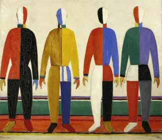 Kazimir Malevich, The Sportsmen, 1928/32 (olio su tela), © State Russian Museum, St. Petersburg