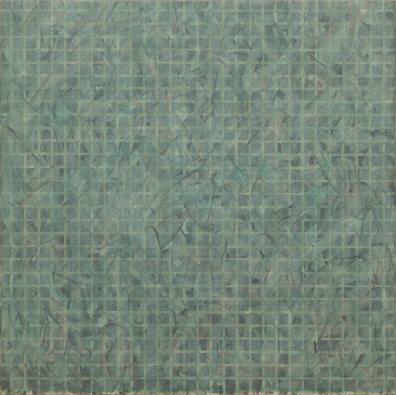Tomas Rajlich, Untitled, 1975, 120x120cm, acrylic on linen