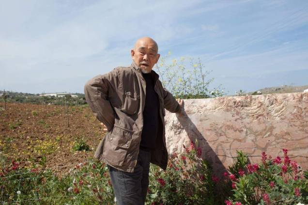 Hidetoshi Nagasawa, Sicilia 2017, Photo by Peppino Sciortino