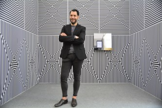 Vincenzo Marsiglia, Optical Room, Summeat Festival Pescara, Aurum 21>24 aprile 2018, Sponsor Metamer, Photo Roberto Sala
