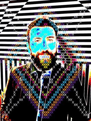 Vincenzo Marsiglia, Interactive Portrait, Andrea Salameh, Summeat Festival Pescara 21>24 aprile 2018, Sponsor Metamer, Photo Roberto Sala