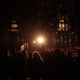 "Credit: Andreco - ""intrepida"" workshop, collective performance and installation - Production: GAER - MDA - Geco - Regione Emilia Romagna Foto: Nicolò Mattoni, 2"