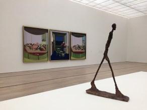 Bacon – Giacometti, Fondation Beyeler, Basilea 2018, ph Roberto Sala