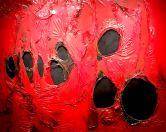 Alberto Burri, Rosso Plastica, 1963 - Tornabuoni Art Paris, Crans Montana, Firenze, Forte dei Marmi, London, Milan