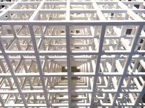 Sol LeWitt Open geometric structure IV, 1990 Galería Elvira González, Madrid - particolare