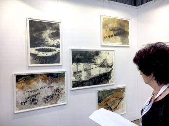 GustavoDiaz, Robert Dress gallery- Hanover - paper position 2018