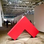 Carmen Herrera, Angulo Rojo, 2018 - Lisson Gallery London