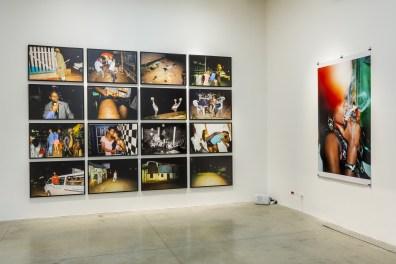 Michele Sibiloni Fuck it, 2016 stampa su dybond / dybond print courtesy l'artista / of the artist veduta dell'allestimento presso / installation view at CorrainiMAMbo artbookshop, Bologna photo E&B Photo