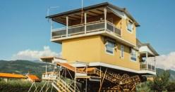 La casa volante di Annunzio Lagomarsini