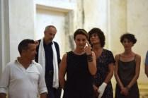 A Bocca chiusa, performance di Ivana Spinelli, 2018, ex chiesa di San Leonardo, Fano_Arte & Jazz PERFORMING. Foto di Michele Alberto Sereni