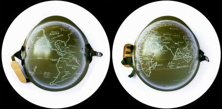 Rocco Dubbini, Greenland, fotografia su carta cotone, 2012 diametro 60cm