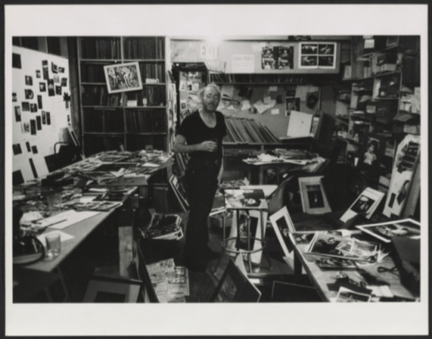 """W. Eugene Smith in his workroom © Arnold Crane, """"Portraits of the Photographers,"""", 1968-1969. Archives of American Art, Smithsonian lnstitution"""