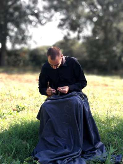Giovanni Gaggia 12+1 PROPHETA il silenzio dei vivi Aulia Land Art Festival ph Roberta Melasecca