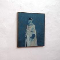 Teaghrán (Tethered), 2018. Oil on canvas, 81x73cm. Ph credit Colm MacAthlaoich