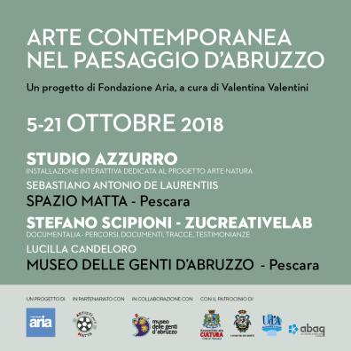 Arte Contemporanea nel Pesaggio d'Abruzzo