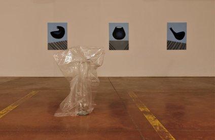 Installation+view,+trittico+Antiforma+e+Formastante