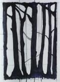 Ivano Troisi Tra la luce (respiro) - schizzo preparatorio, inchiostro su carta, 2018