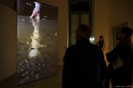 Installazione di Meri-Leen Kiipli, particolare. FOKU- Esto nian Union of Photography Artists, Tallinn. Foto di Matteo N isticò