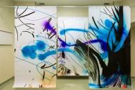 L'installazione di Marta Djourina, presso Display, Berlino. Foto di Claudia Baldino