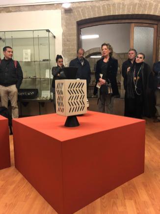 Ugo La Pietra & manifattura Rometti a Tarquinia a cura di Lorenzo Fiorucci fino al 9 Dicembre_Museo della Ceramica di Tarquinia