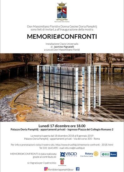 INVITO presentazione opera CLAVIS UNIVERSALIS - palazzo Doria Pamphilj Roma