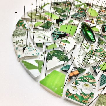 Alice Padovani, Fracture-green, 2018