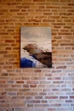 Enrico Minguzzi, Incanto, 2014, acrilico ed olio su tela, cm 80x60