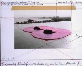 Christo Surrounded Island, Biscayne Bay, Greater Miami, Florida, 1982