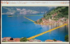 Christo The Floating Piers, Project for Lake Iseo, Italy, 2014