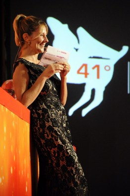 Arianna Ciampoli presentatrice della serata