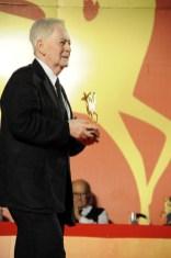 """il regista e sceneggiatore ungherese Istvan Szabo premiato per la regia del film """"A Taking Sides"""""""