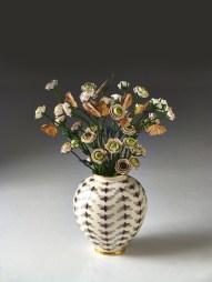 Vaso con mazzo di fiori 2014