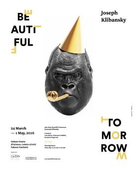 Joseph Klibansky Beautiful Tomorrow Poster of the Exhibition