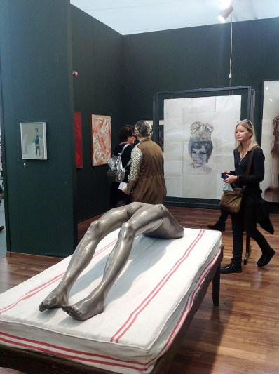Louise Bourgeois, arched figure, Hauser & Wirth Zurich