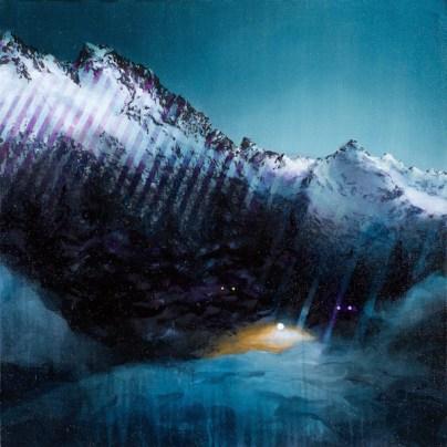 Luce del mattino II, acrilico ed olio su lino, cm 60x60, 2014