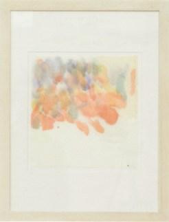 Italo Bressan, Scottex, 2013 - Acquerello su scottex, cm. 22x22