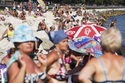 MARTIN PARR The Amalfi Coast, Napoli 2014, cm 65x90, ed.10 © Martin Parr / Magnum Photos / Studio Trisorio
