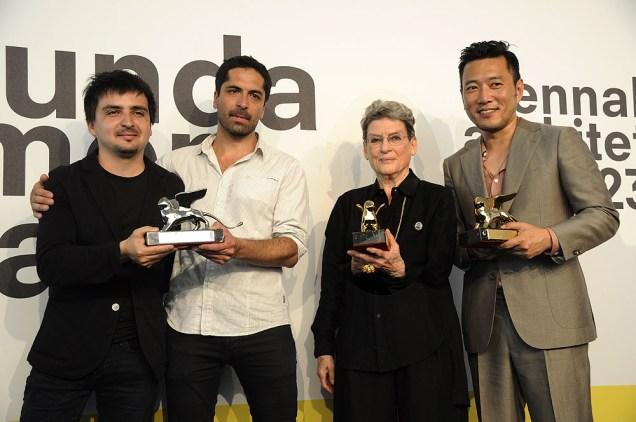 Pedro Alonso, Hugo Palmarola (Cile), Phyllis Lambert, Minsuk Cho