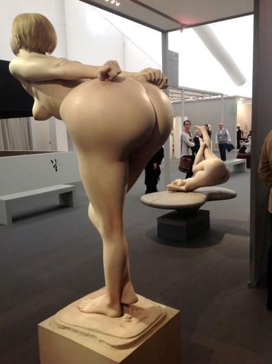 Reg Butler bending girl 1968-72 private collection - Gal Jonathan Clark London