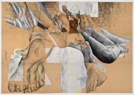 Luca Zarattini, Tapis Lapis, tecnica mista su carta, 207x294, 2015
