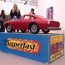 Vik Muniz, Mnemonic Vehicle #1 (Ferrari Berlinetta) - Pace Gallery London