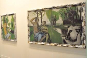 Markus Lüpertz, Die Toilette (Märkisch), 2014