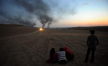 Curdi di Kobane contro Isis