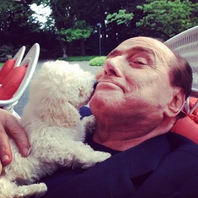Silvio-Berlusconi-e-Dudù