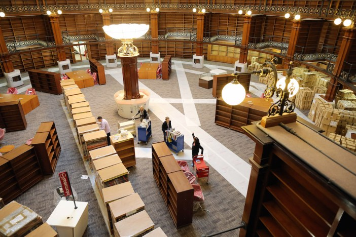 Liverpool's Central Library Reopens After Two Years Of Restoration